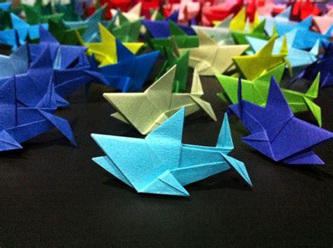 Origami Sharks - origami sharks from papersharks org shark