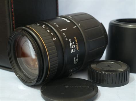 Sigma 70 300 Apo sigma af 70 300mm 1 4 5 6 d apo macro lens for nikon cased 59 99