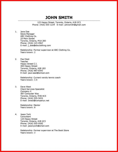 letter requesting references from job applicant office