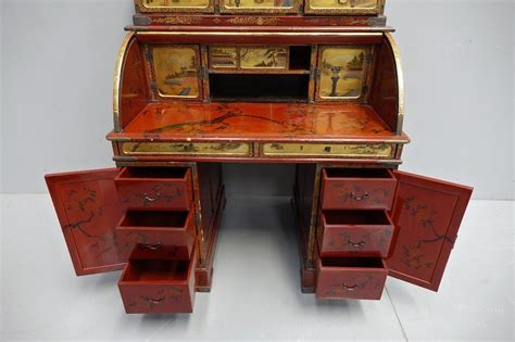 scrivania scrittoio scrivania scrittoio laccato dorato giappone periodo