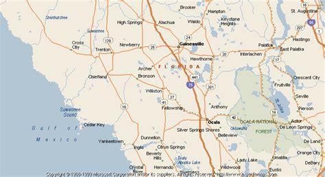williston florida map map of williston