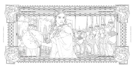 the official of thrones coloring book official hbo of thrones coloring book coming from