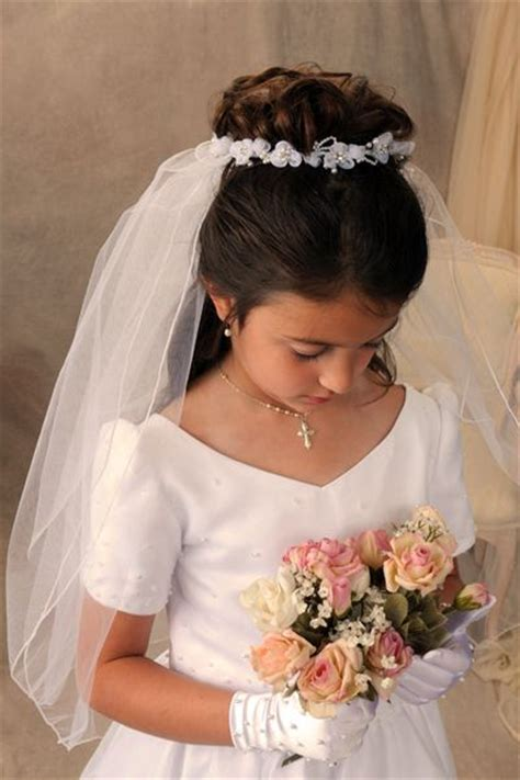 down hairstyles for communion 1000 ideas about first communion hair on pinterest
