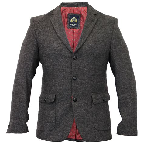 design jacket formal mens blazer marc darcy coat formal check jacket suede