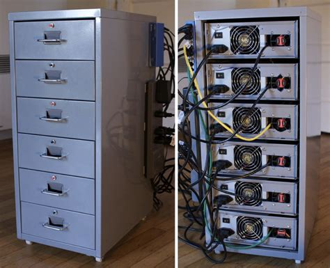 Ikea Diy by 24 Core Linux Cluster In A 29 99 Case From Ikea Knowm Org