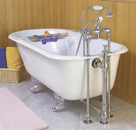 bathtub accessories decorate bathroom with clawfoot tub accessories the homy