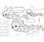 Powerpuff Girls Z Coloring Pages Car Tuning