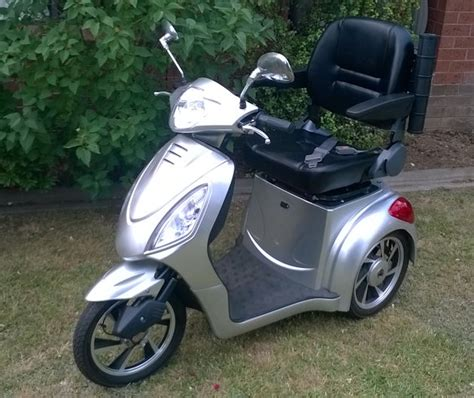 3 wheel electric scooter ebay 500w 25 kph mobility three wheel electric scooter ebay