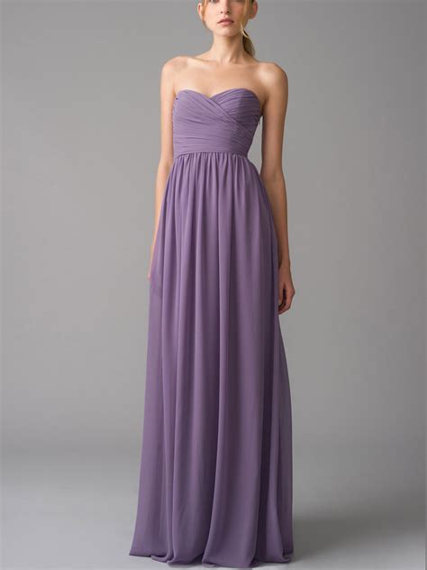 Bridesmaid Dress by Chiffon Dresses Color Attire