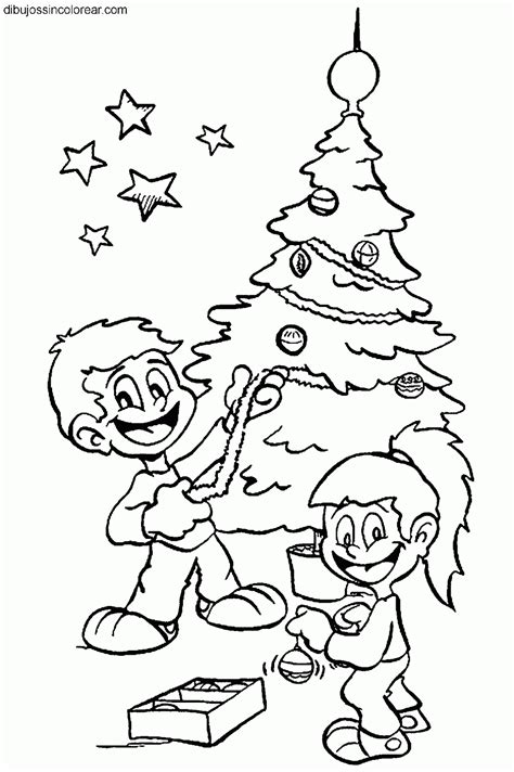 imagenes de navidad para colorear animadas dibujos de arboles de navidad para colorear