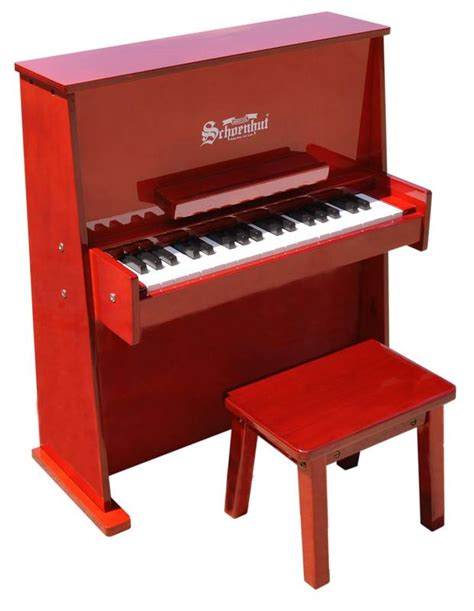toddler piano with bench children s piano 37 key daycare durable spinet piano w