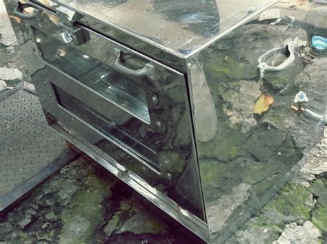Harga Klakat Stainless Steel ud sinar utama oven gas stainless steel