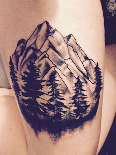 tattoo nation stone oak 17 b 228 sta bilder om landscape tattoos p 229 pinterest