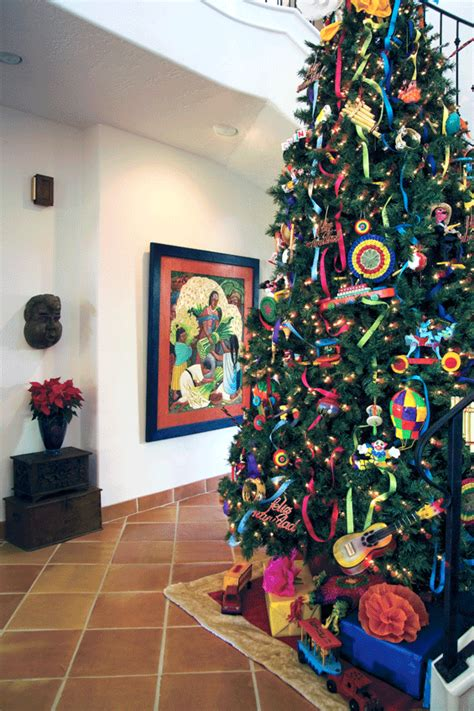 mexican christmas tree picture fort bend lifestyles homes magazine looking back casa home tours of the past fort bend