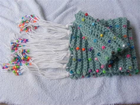 beaded crochet scarf pattern 25 different ideas for crocheting a scarf