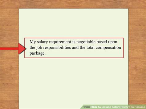 Salary History On Resume by How To Include Salary History On Resume 11 Steps With