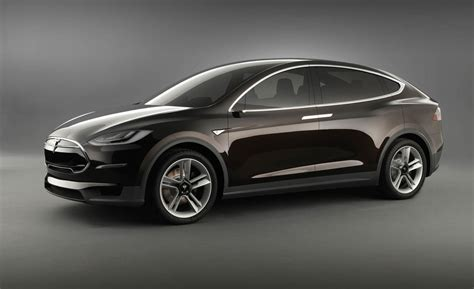 sport car garage tesla model x 2014