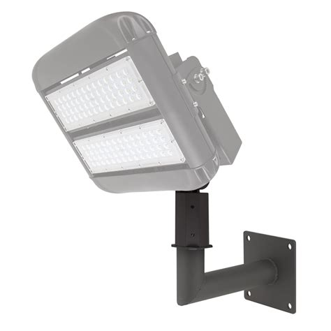 Led Area Lighting by Wall Mount Kit For Led Area Lights Led Parking Lot