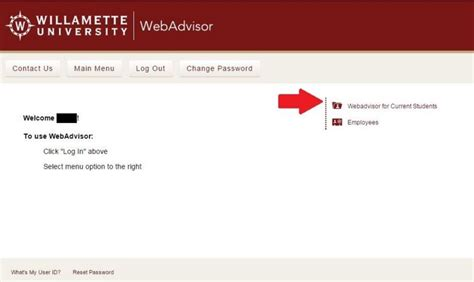 Willamette Acceptance Letter Logging In To Webadvisor Financial Aid Willamette