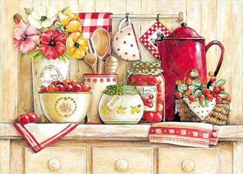 Decoupage Kitchen - 1374 best images about kitchen decoupage on