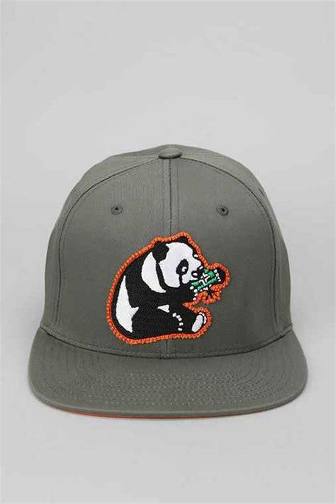 topi snapback panda maroon lrg panda snapback hat outfitters
