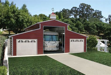 rv barn plans pws rv garages rv barns