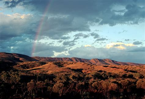 mac donald new veggie range rainbow over the macdonald ranges central australia flickr