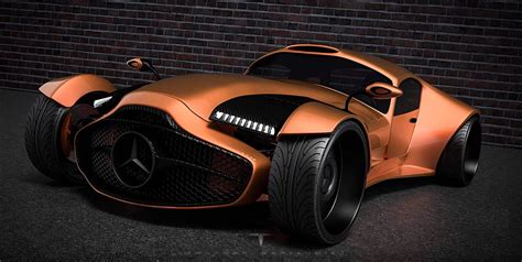 Mercedes Benz 540k Supercar Concept