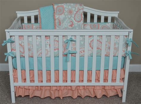 aqua baby bedding coral and aqua baby bedding design suntzu king bed customizing your own coral and aqua baby bedding