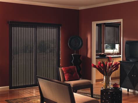 Maroon Pleated Sliders san antonio vertical solutions san antonio blinds
