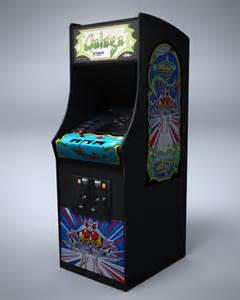 galaga arcade machine by nocomplys on deviantart