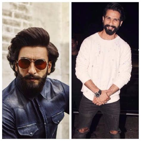 hairstyie of rainveer kapoor ranveer singh shahid kapoor is very easy to work with