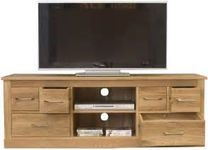 tv schrank eiche mobel oak widescreen television cabinet