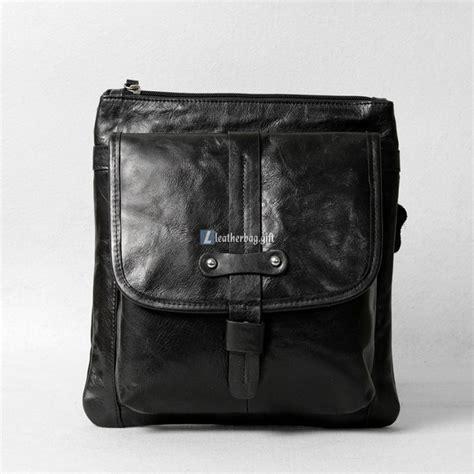 Coach Tote 1689 black leather messenger bag mens shoulder bag