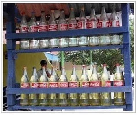Botol Bensin Eceran usaha rumahan modal kecil berusaha fokus berdoa
