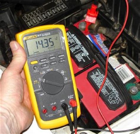 normal boat battery voltage how to test an alternator
