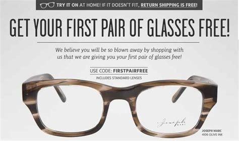coastal free glasses for new customers