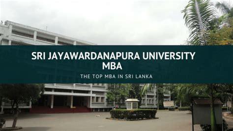U Mba by Top Mba In Sri Lanka Sri Jayawardanapura Mba