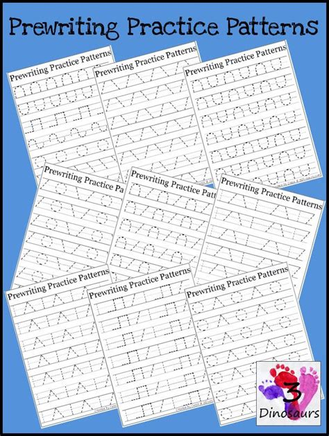 pre writing pattern sheets 284 best images about writing skills for preschool on