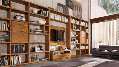 libreria legno naturale libreria in massello beyond ks11 di fgf mobili