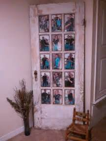 Putting Old Doors To Good Use Old Door Picture Frame Craft Pinterest Wedding