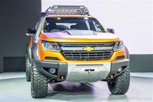 bangkok 2016 chevrolet unveils the new colorado xtreme
