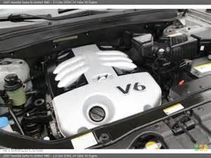 3 3 liter dohc 24 valve v6 engine for the 2007 hyundai
