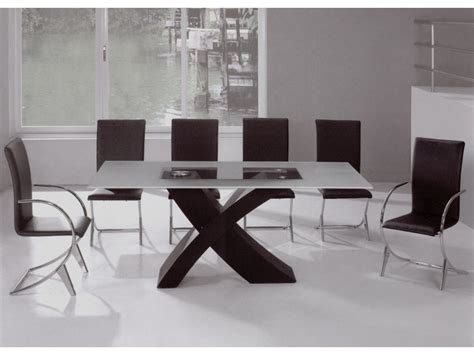 Modern Glass Dining Room Tables Glass Dining Room Table Flexibility Furniture Modern Home Furniture