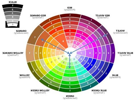 color wheel design color wheel interior design trumk