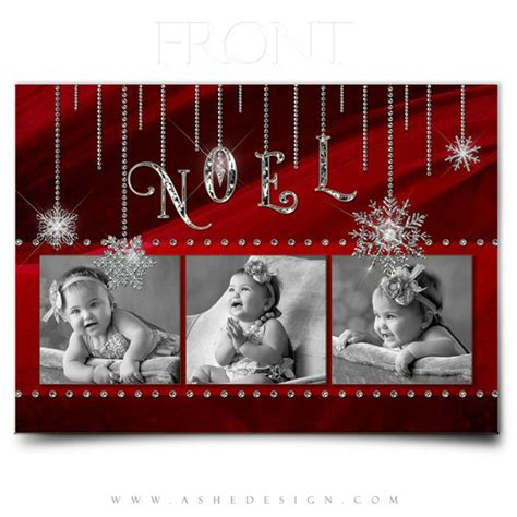 dreamy noel chritmas card template card photoshop templates noel ashedesign