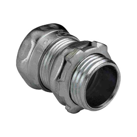 connect electrical fittings steel emt connectors compression type emt fittings