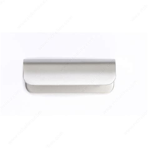 metal edge cabinet hardware pull contemporary metal edge pull 3966 richelieu hardware