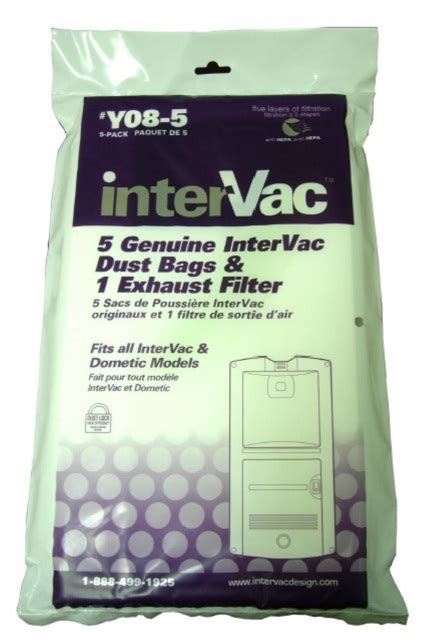 intervac garagevac hypo allergenic bags  filters