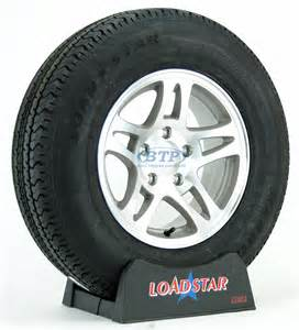 Trailer Tire Rims Boat Trailer Tire St205 75r14 Radial On Aluminum 5 Lug